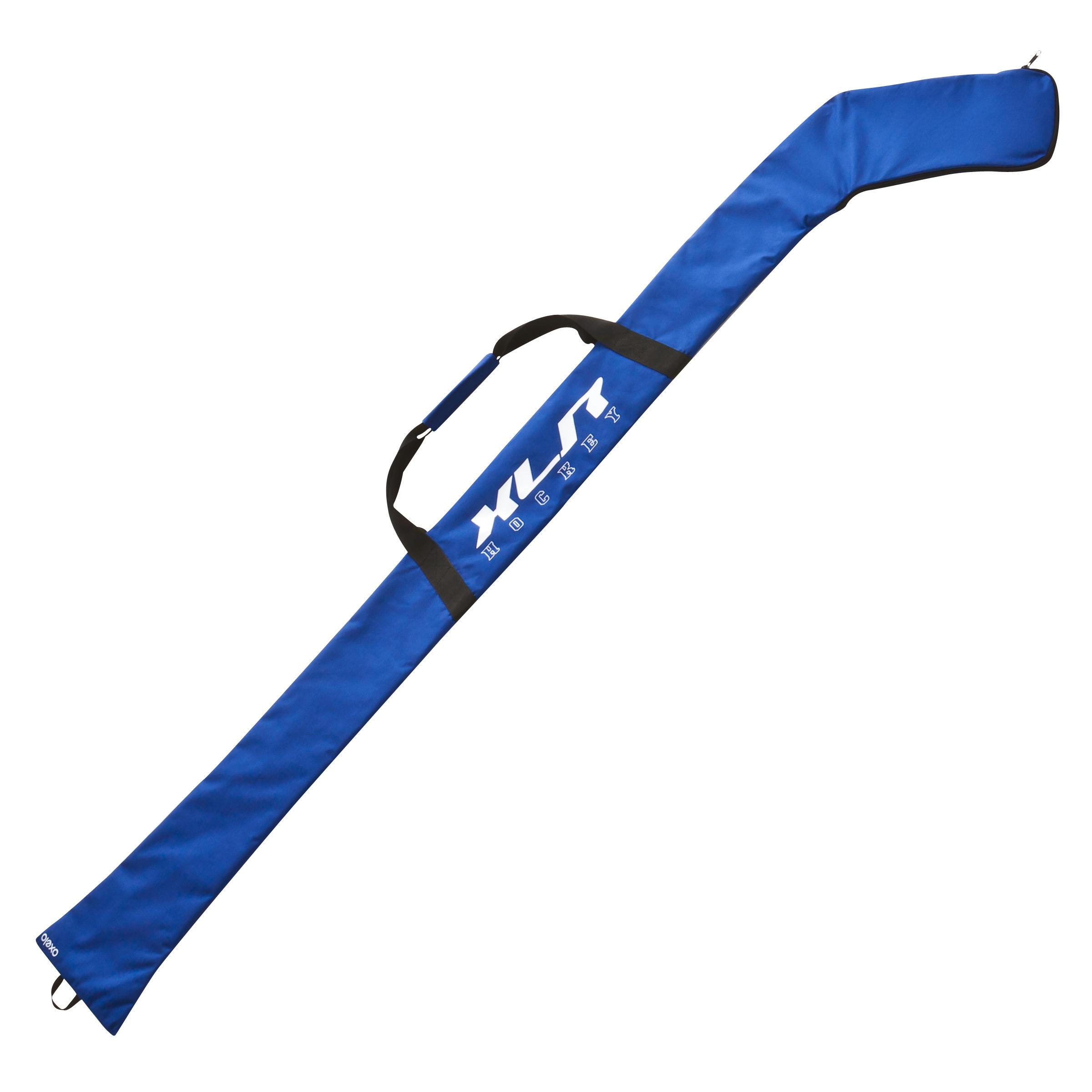 Hockeysticktas blauw