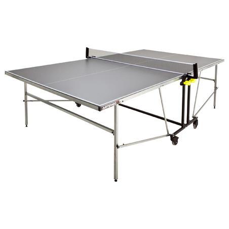 Table De Pingpong Outdoor Artengo Ft 744 Grise