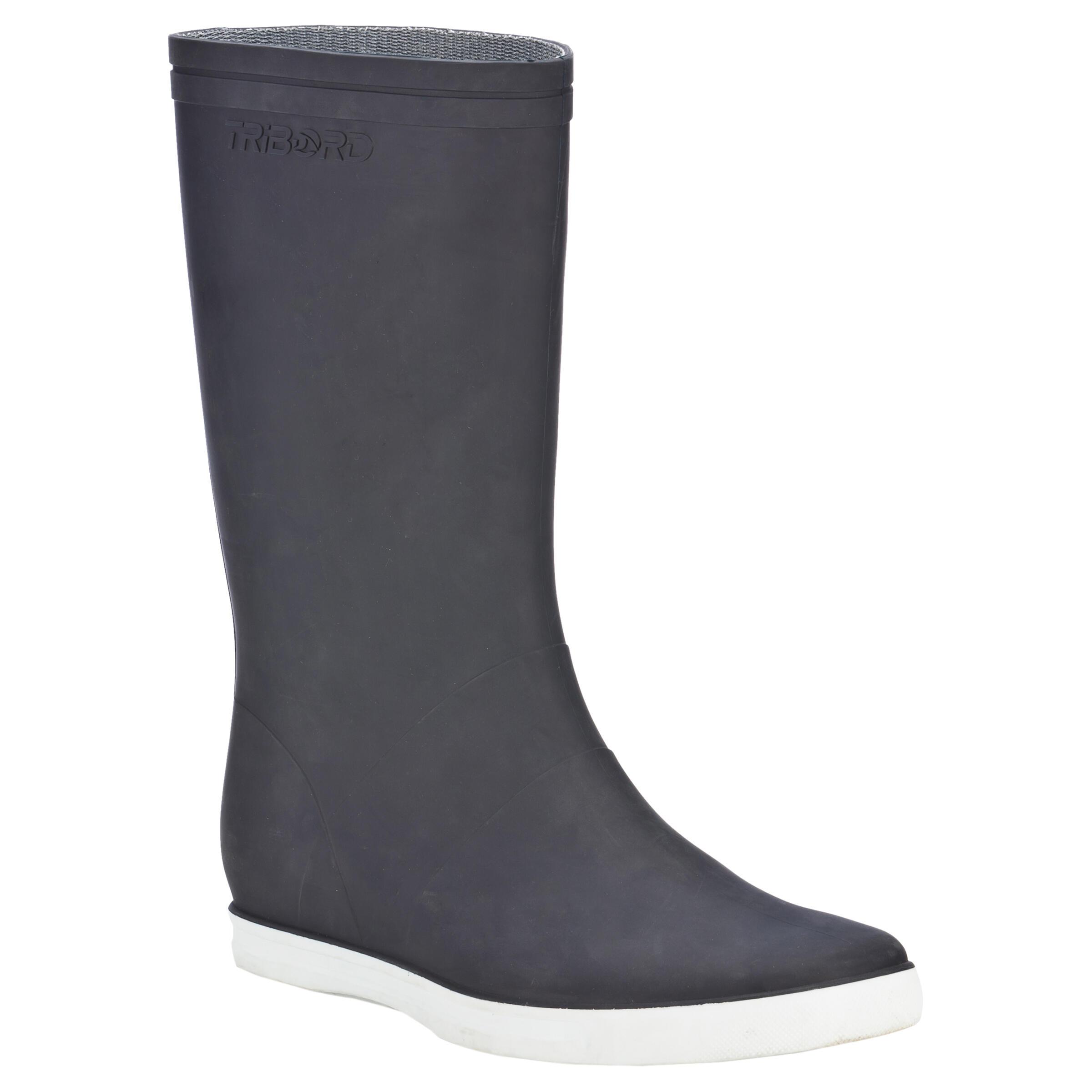 B100 Adult Sailing Boots - Blue