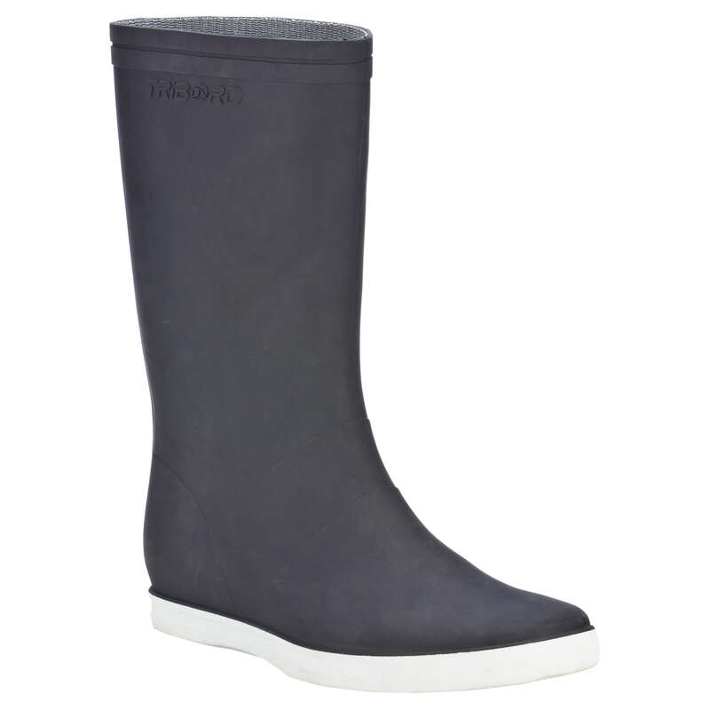 Felnőtt csizma Vitorlázás, hajózás, dingi - Csizma hajózáshoz Sailing 100 TRIBORD - Női vitorlás ruházat, cipő
