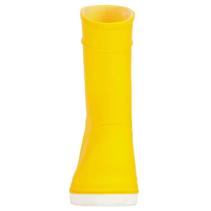 Kids' Sailing Rain Boots 100 - Yellow