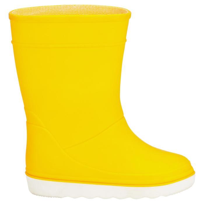 兒童款航海靴B100-黃色
