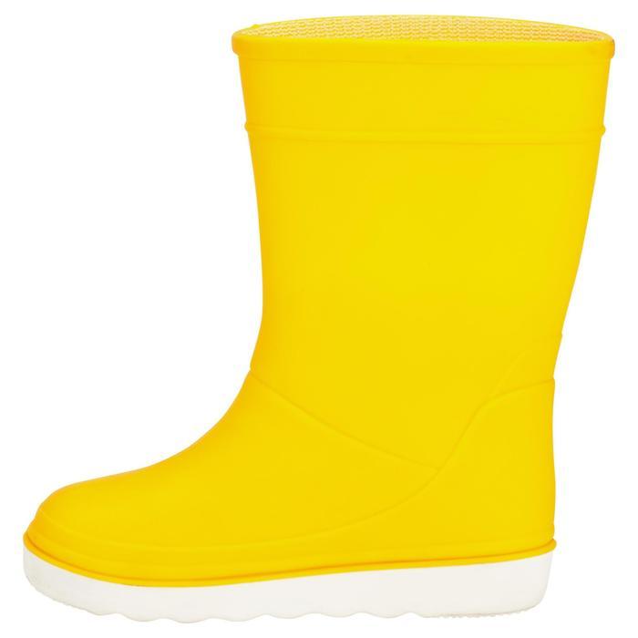 Botas barco B100 niños amarillo