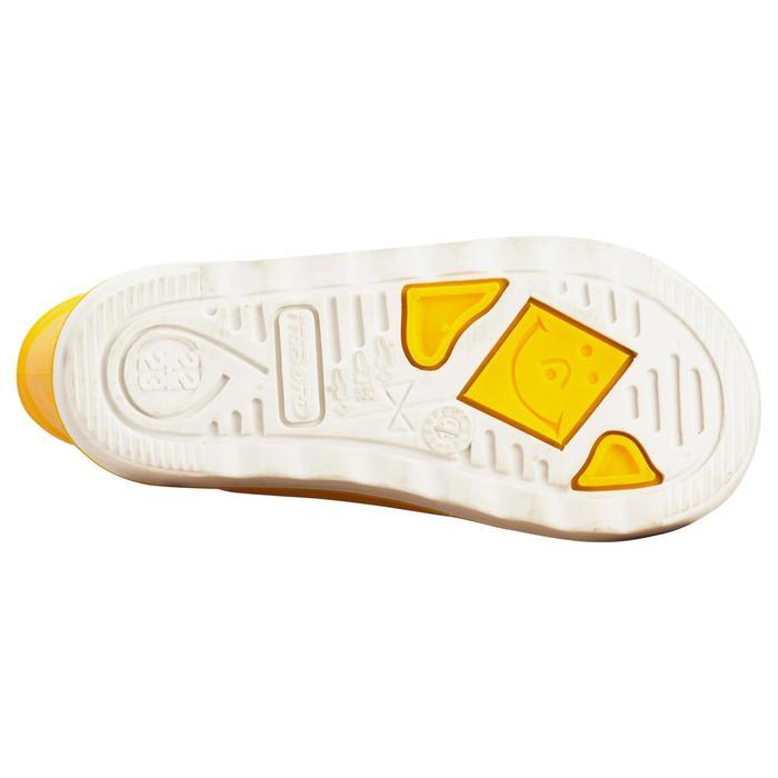 Regenlaarzen voor kinderen Sailing 100 geel