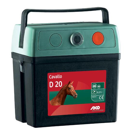 Schrikdraadtoestel omheining CAVALO op batterij 9V - 508326