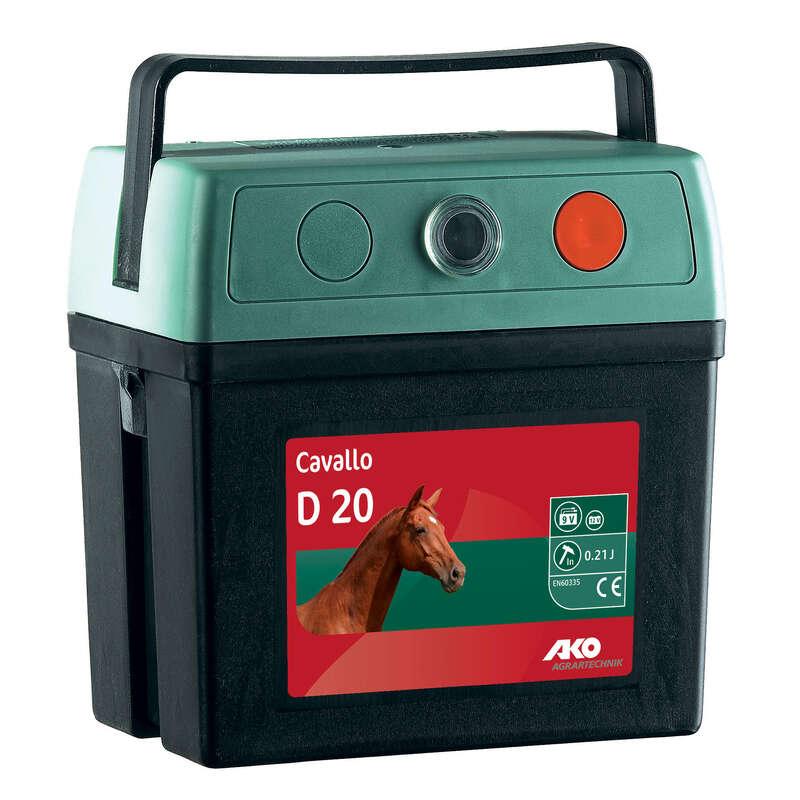 HÄSTHAGAR Ridsport - Elaggregat CAVALO batteri 9 V AKO - Skötsel och Vård
