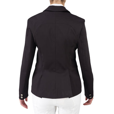 Comp 500 Women's Competition Horse Riding Jacket - Black