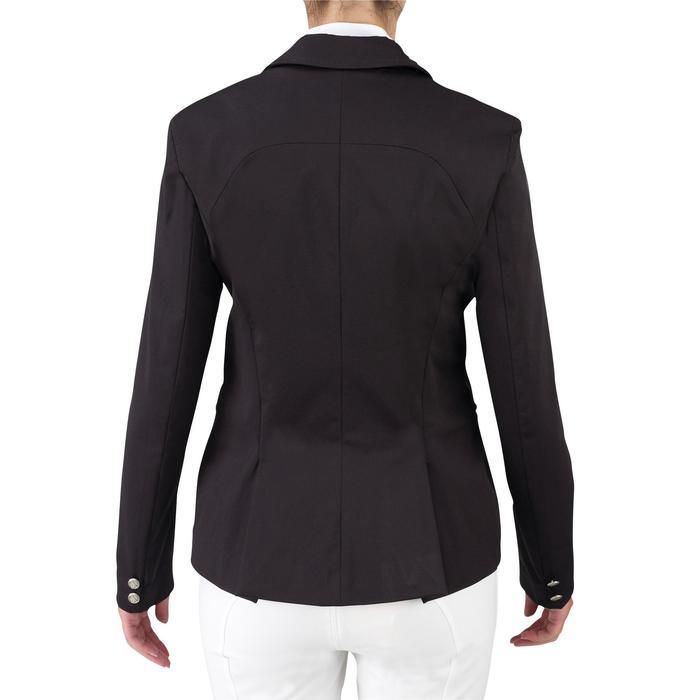 Veste de Concours équitation femme COMP500 noir - 508671