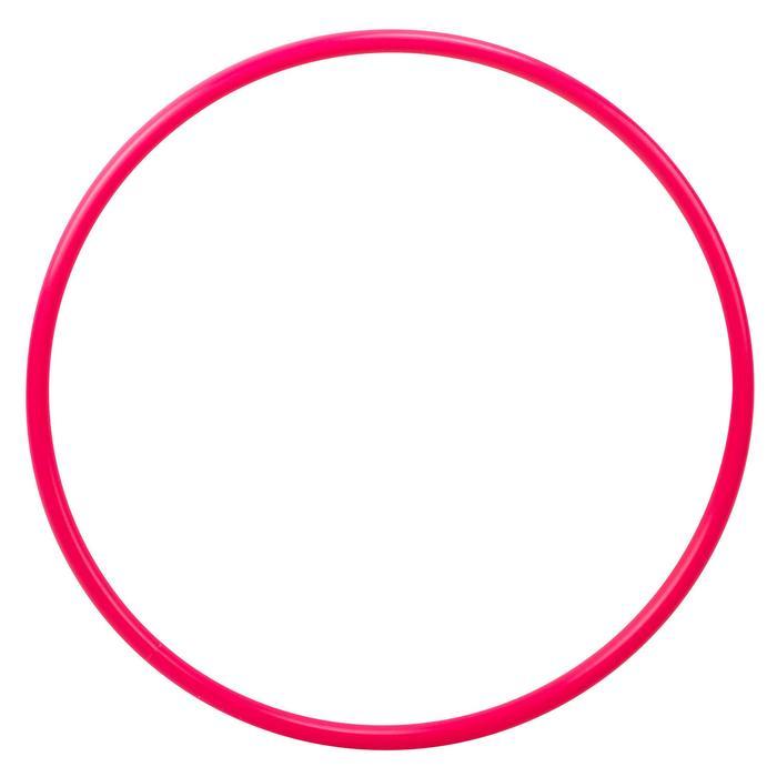 Hoepel voor ritmische gymnastiek 50 cm roze