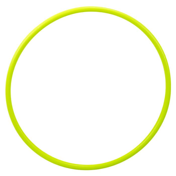 Aro Gimnasia Rítmica 50 cm Domyos Verde Amarillo