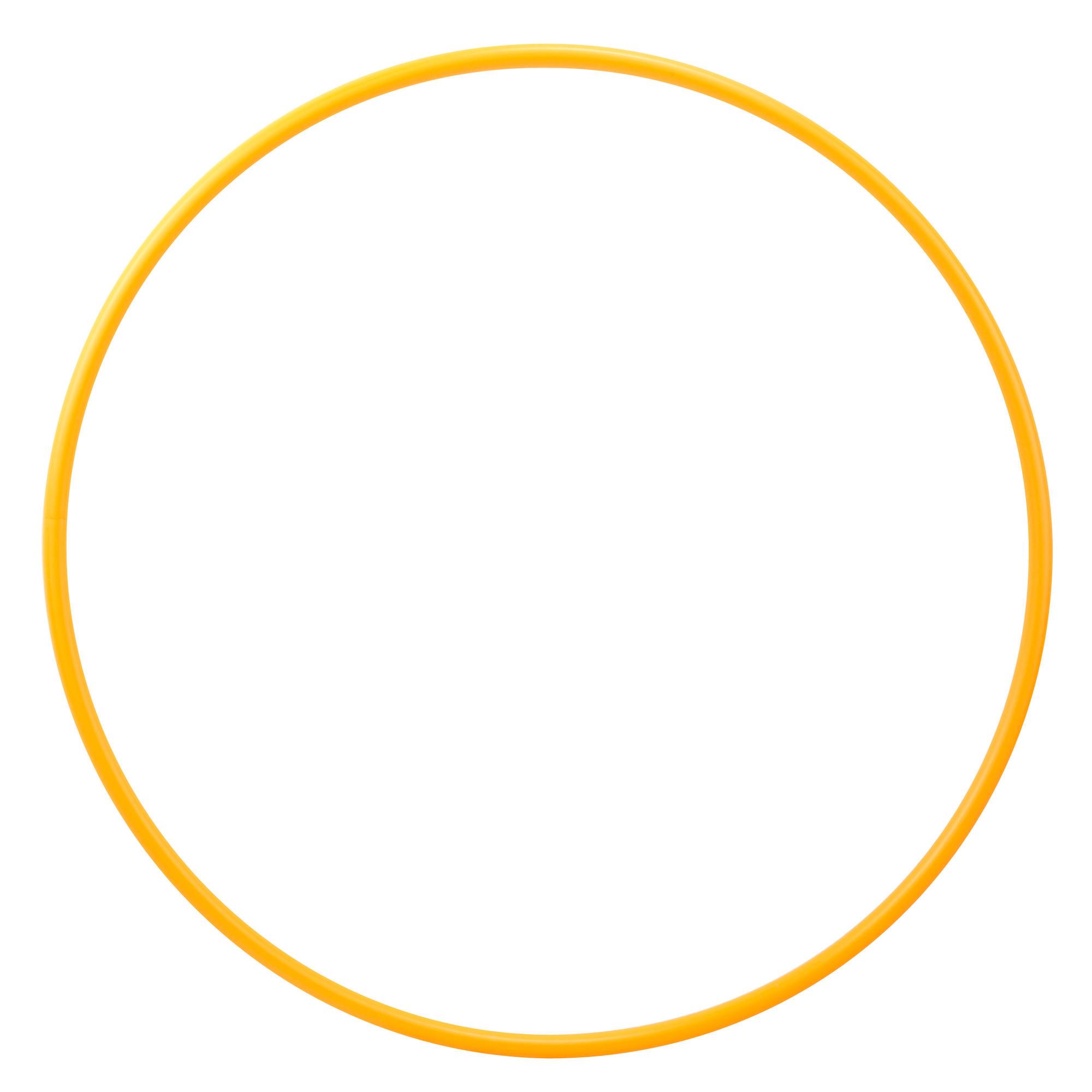 Cerchio ginnastica ritmica 75cm arancione | Domyos by