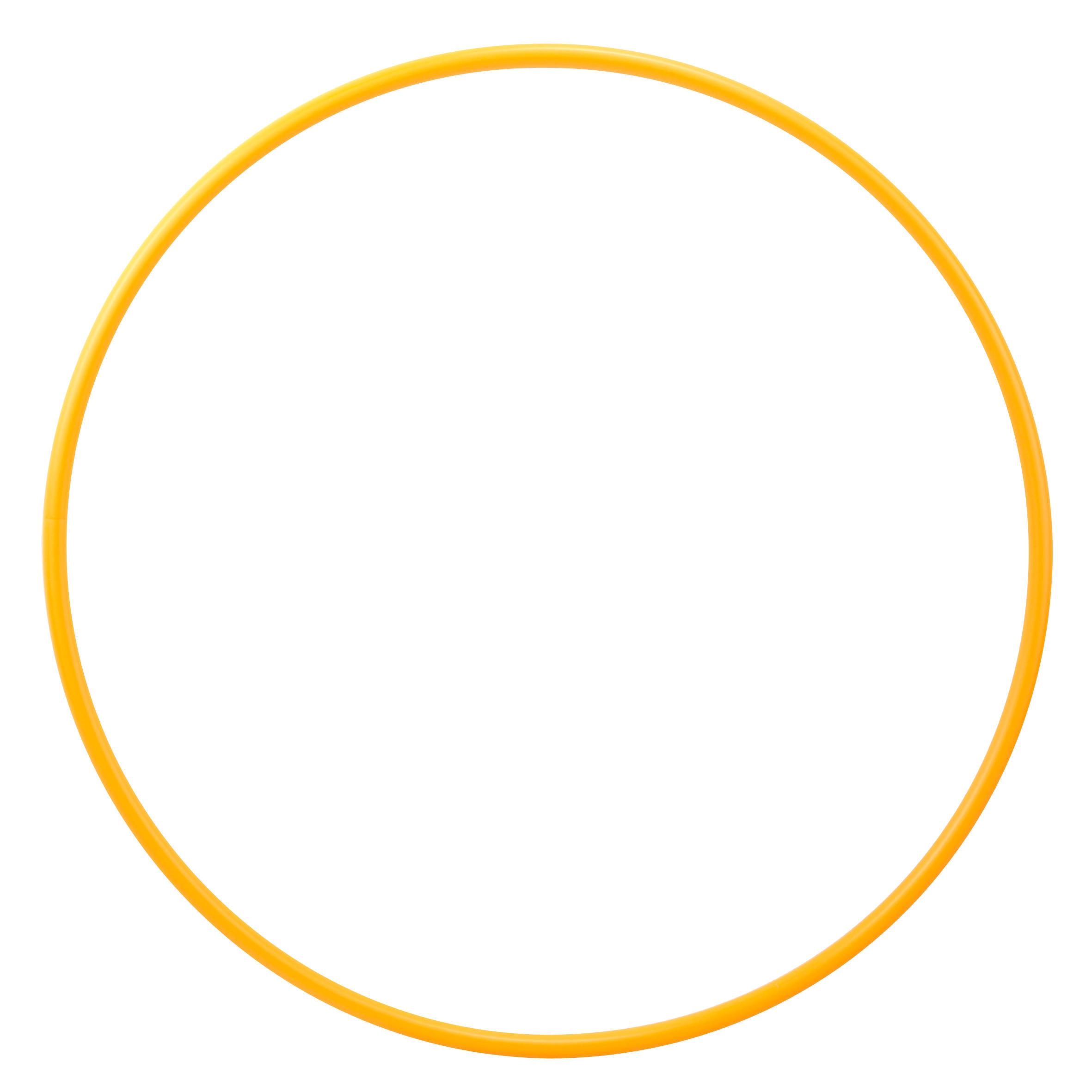 Cerceau de Gymnastique Rythmique (GR) de 75 cm Orange