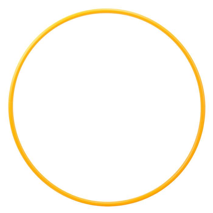 Hoepel voor ritmische gymnastiek (RG) 75 cm oranje