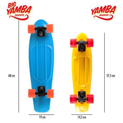 Скейтборд круїзер Yamba - Блакитний/Кораловий