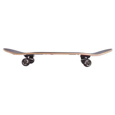 Skateboard MID 5 POKER SKULL rouge