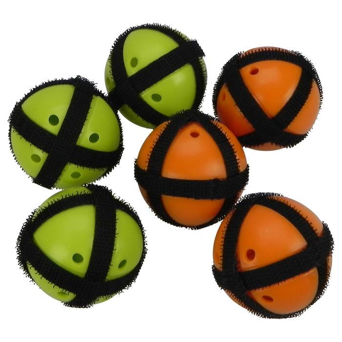 Klettbälle für Klettzielscheibe 6 Stück