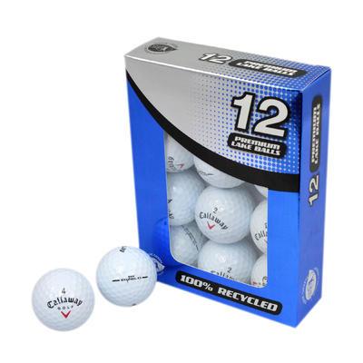 Balle de Golf recyclée Grade 1 Blanc