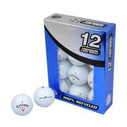 Gerecycleerde golfballen Grade 1 wit