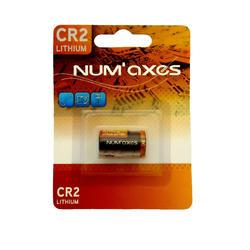 Pilha de Lítio Num'axes 3V CR2