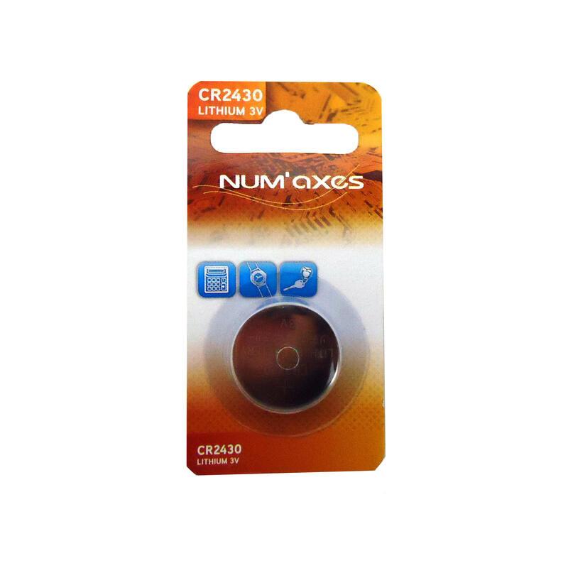 Pile lithium NUM'AXES CR 2430