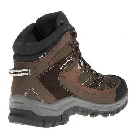 Quechua Forclaz 100 Men's High Waterproof Hiking Shoes