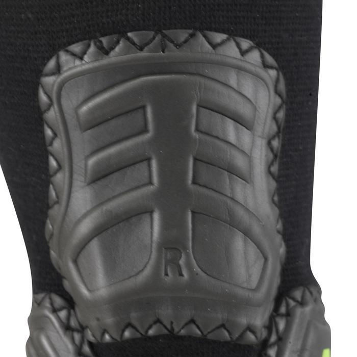 Protège-cheville de football adulte Ankle protector noir jaune - 515224