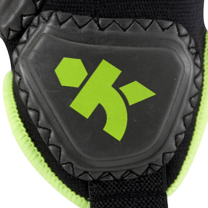 Protège-cheville de football adulte Ankle protector noir jaune - 515226