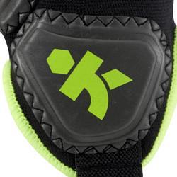 Protège-cheville de football adulte Ankle protector noir jaune