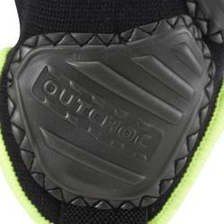 Knöchelschutz Ankle Protector Erwachsene schwarz/gelb