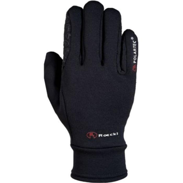 Warme rijhandschoenen Warwick Polartec voor volwassenen zwart
