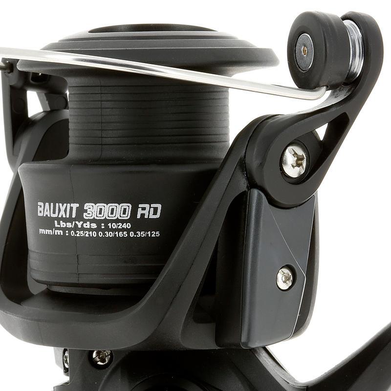 Carrete light pesca lanzamiento BAUXIT 3000 RD
