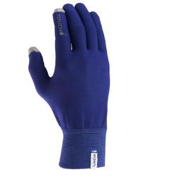 Onderhandschoenen voor trekking Forclaz Touch volwassenen - 516017