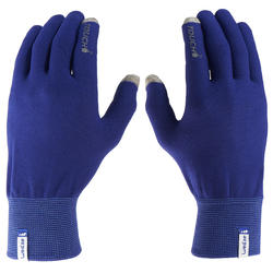 Onderhandschoenen voor trekking Forclaz Touch volwassenen - 516027