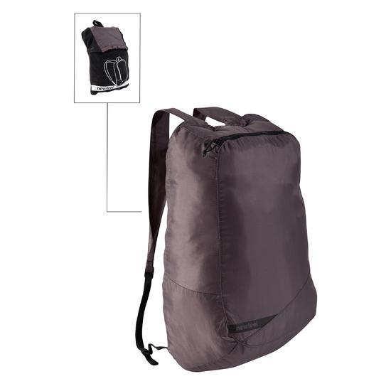 Kleine opvouwbare rugzak voor dagelijks gebruik Pocket Bag blauw met pijlen - 516319