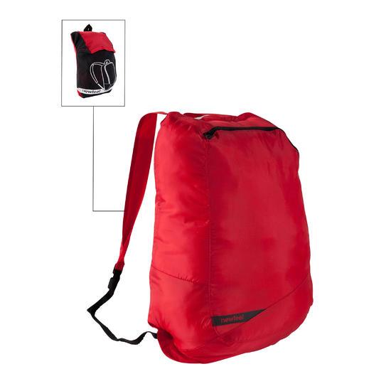 Kleine opvouwbare rugzak voor dagelijks gebruik Pocket Bag blauw met pijlen - 516322