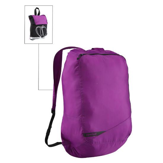 Kleine opvouwbare rugzak voor dagelijks gebruik Pocket Bag blauw met pijlen - 516350