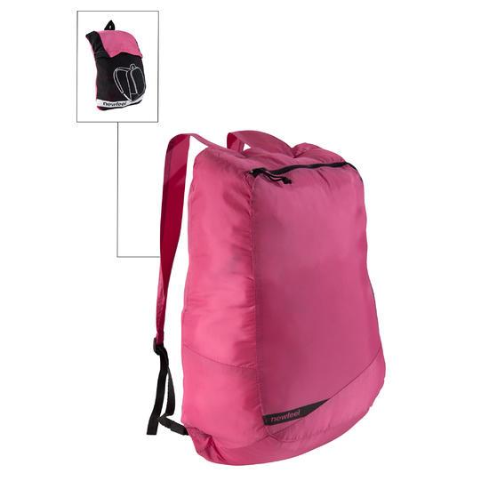 Kleine opvouwbare rugzak voor dagelijks gebruik Pocket Bag blauw met pijlen - 516352