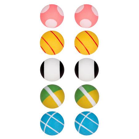 ARTENGO FB 800 table tennis training ball x 10