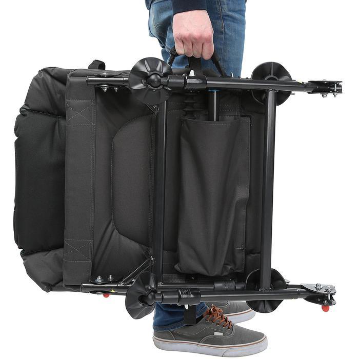 Angel-Stuhl CSB Feeder Adjust + zusammenklappbar grau