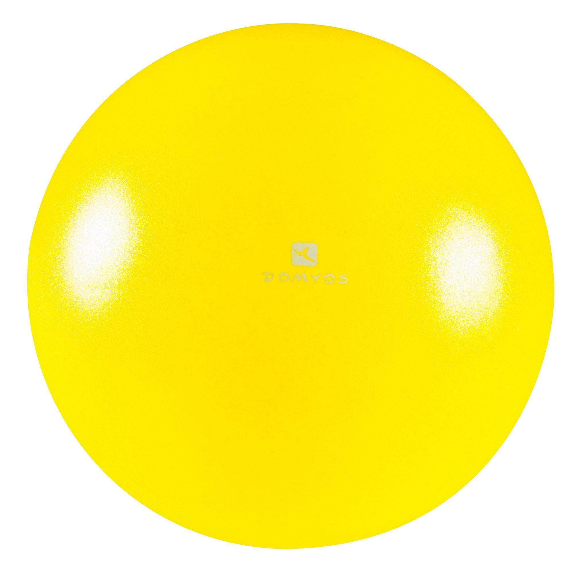 Small Squishy Exercise Ball : Small Fitness Equipment Pilates Soft Ball - Small Domyos by Decathlon