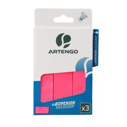 Superior Badminton Overgrip 3-Pack - Pink