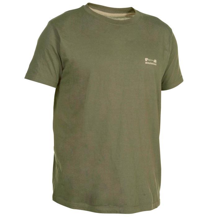 Tee shirt steppe 100  manches courtes - 519140