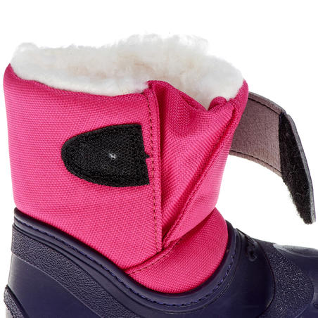Bibou hiking baby snow boots - Pink