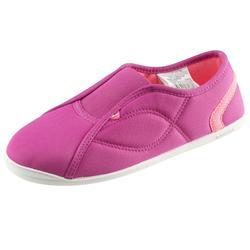 Zapatillas RYTHME 500 gimnasia niña rosa