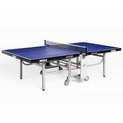 Tafeltennistafel indoor Rollomat ITTF blauw