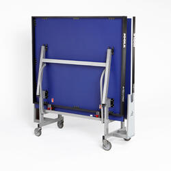 Tafeltennistafel indoor Rollomat ITTF blauw - 520501