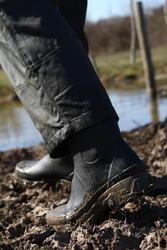 Stevige halfhoge laarzen Inverness 300 groen - 520706