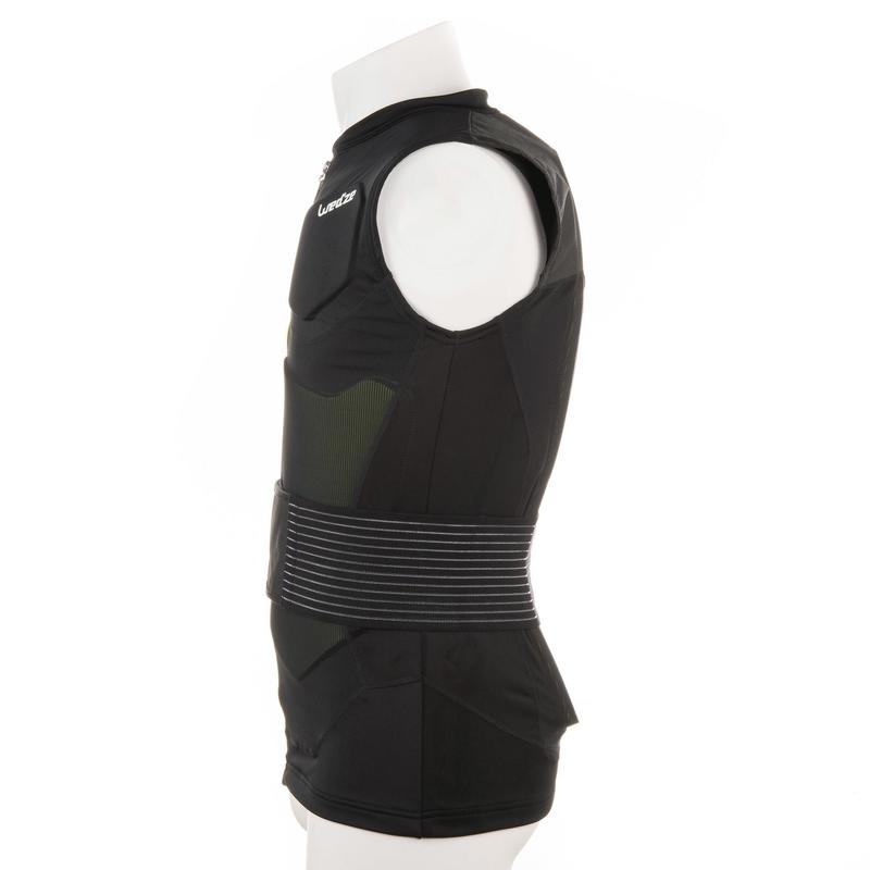 9e526fd16484 Defense Jacket Adult Snowboarding and Skiing Protective Gilet black ...