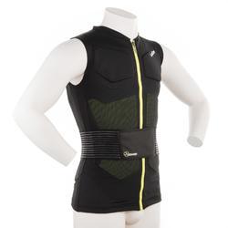 Beschermvest voor skiën en snowboarden volwassenen Defense Jacket zwart