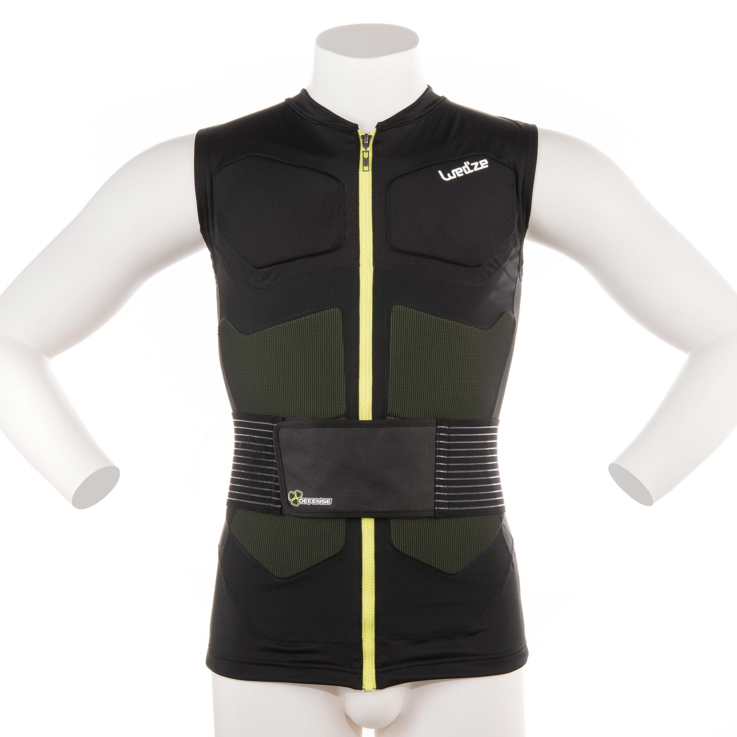 Gilet de protection ski et snowboard adulte defense jacket